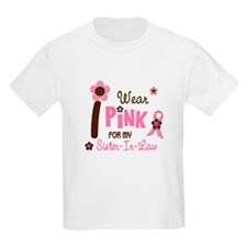 I Wear Pink For My Sister-In-Law 12 T-Shirt