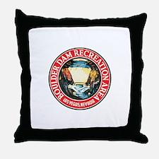 Boulder Hoover Dam Throw Pillow