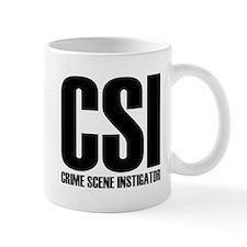 CSI - crime scene INSTIGATOR Small Mug