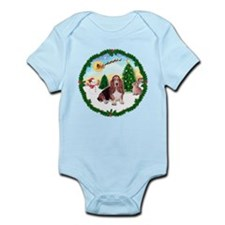 Take Off1/Basset Hound Infant Bodysuit