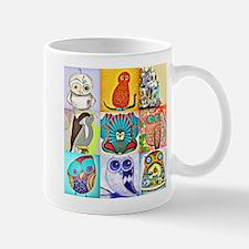 Owl-Art-01 Mugs