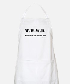 What Would Woody Do? BBQ Apron