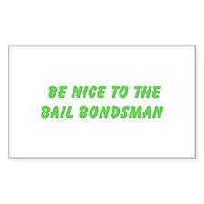 Bail Bondsman Rectangle Sticker 10 pk)