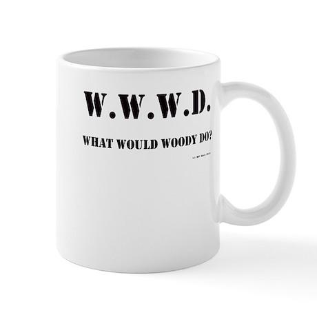 What Would Woody Do? Mug