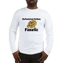 Reticulated Python Fanatic Long Sleeve T-Shirt