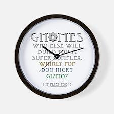 Gnomes - Gizmo Wall Clock
