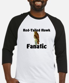 Red-Tailed Hawk Fanatic Baseball Jersey