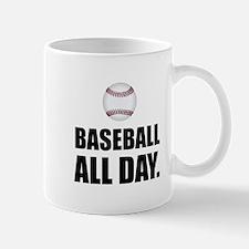 Baseball All Day Mugs