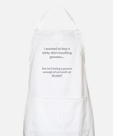 Insulting Gnomes BBQ Apron
