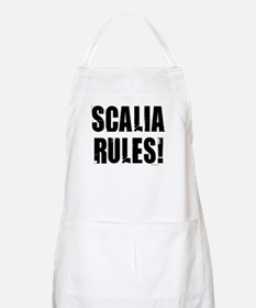 Scalia Rules BBQ Apron