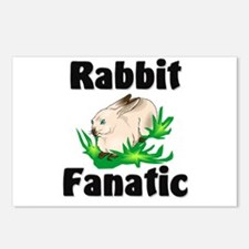 Rabbit Fanatic Postcards (Package of 8)
