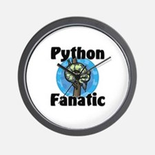 Python Fanatic Wall Clock
