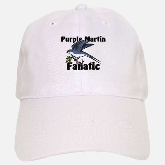 Purple Martin Fanatic Baseball Baseball Cap