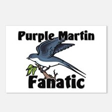 Purple Martin Fanatic Postcards (Package of 8)