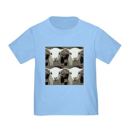 White Lamb Toddler T-Shirt