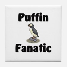 Puffin Fanatic Tile Coaster