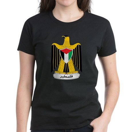 Palestine Coat of Arms Women's Dark T-Shirt