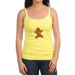Pink Ribbon Gingerbread Man S Jr. Spaghetti Tank