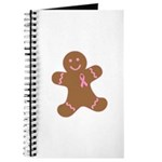 Pink Ribbon Gingerbread Man S Journal
