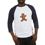 Pink Ribbon Gingerbread Man S Baseball Jersey