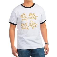 Golden Horses Batik T