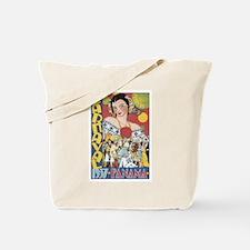 1937 Carnaval Panama Tote Bag