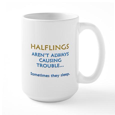 Troublesome Halflings Large Mug