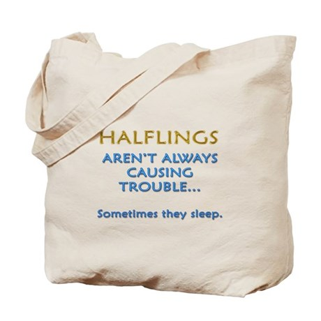 Troublesome Halflings Tote Bag