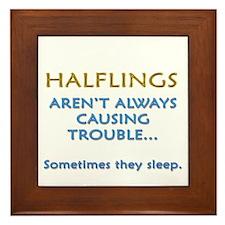 Troublesome Halflings Framed Tile