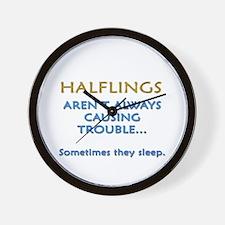 Troublesome Halflings Wall Clock