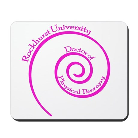 Swirl Mousepad (pink)