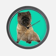 Cairn Terrier Birthday Wall Clock