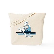 Rowing Crew Tote Bag
