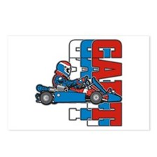 Ultimate Go Cart Postcards (Package of 8)