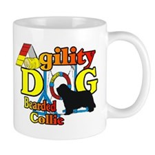 Bearded Collie Agility Mug