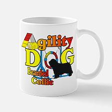 Bearded Collie Agility Mug