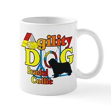 Bearded Collie Agility Small Mug