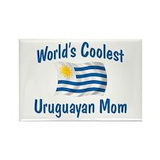 Coolest Uruguayan Mom Rectangle Magnet