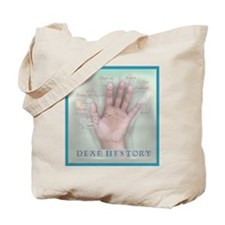 Deaf History Tote Bag