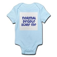 Normal People Scare Me Infant Creeper