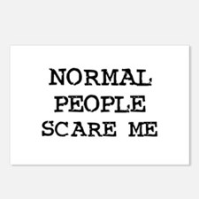 Normal People Scare Me Postcards (Package of 8)