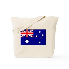 AUSTRALIA Flag of Australia Tote Bag