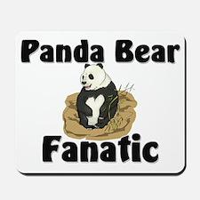 Panda Bear Fanatic Mousepad