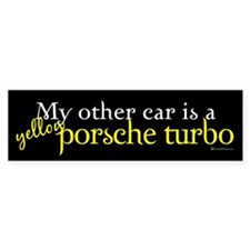 Porche Turbo Bumper Bumper Sticker