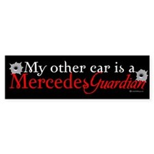 Mercedes Guardian Bumper Bumper Sticker