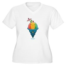 Kawaii Rainbow Shaved Ice T-Shirt
