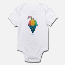 Kawaii Rainbow Shaved Ice Infant Bodysuit