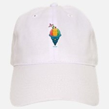 Kawaii Rainbow Shaved Ice Baseball Baseball Cap