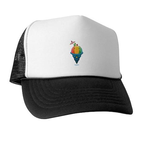 Kawaii Rainbow Shaved Ice Trucker Hat