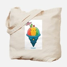 Kawaii Rainbow Shaved Ice Tote Bag